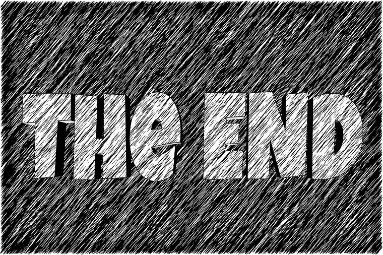 the endの表示