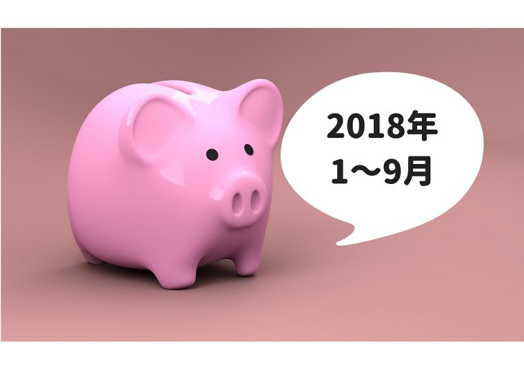 豚の貯金箱2018年1~3月